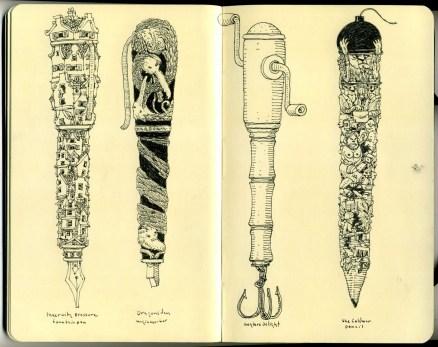 New Pens by Mattias Adolfsson